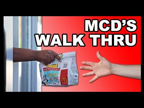 Too Drunk to Drive-Thru? McDonald's Has You Covered - Food Feeder
