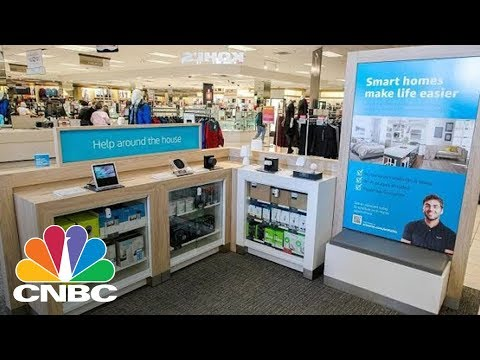 Amazon's Free Returns At Kohl's Stores Launch Today | CNBC