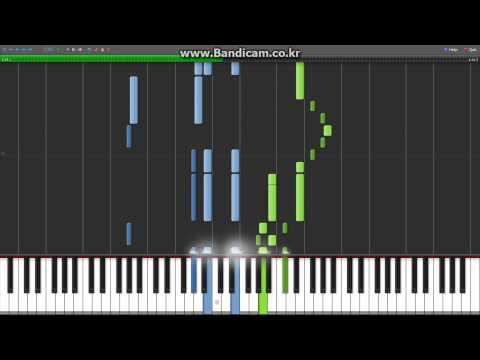 [Synthesia][MIDI] The Girl Who Leapt Through Time - Kawaranai Mono (변하지 않는것)