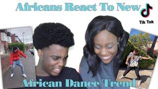 AFRICANS REACT TO TIKTOK AFRICAN DANCE TREND
