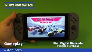 fast rmx gameplay first digital nintendo switch purchase