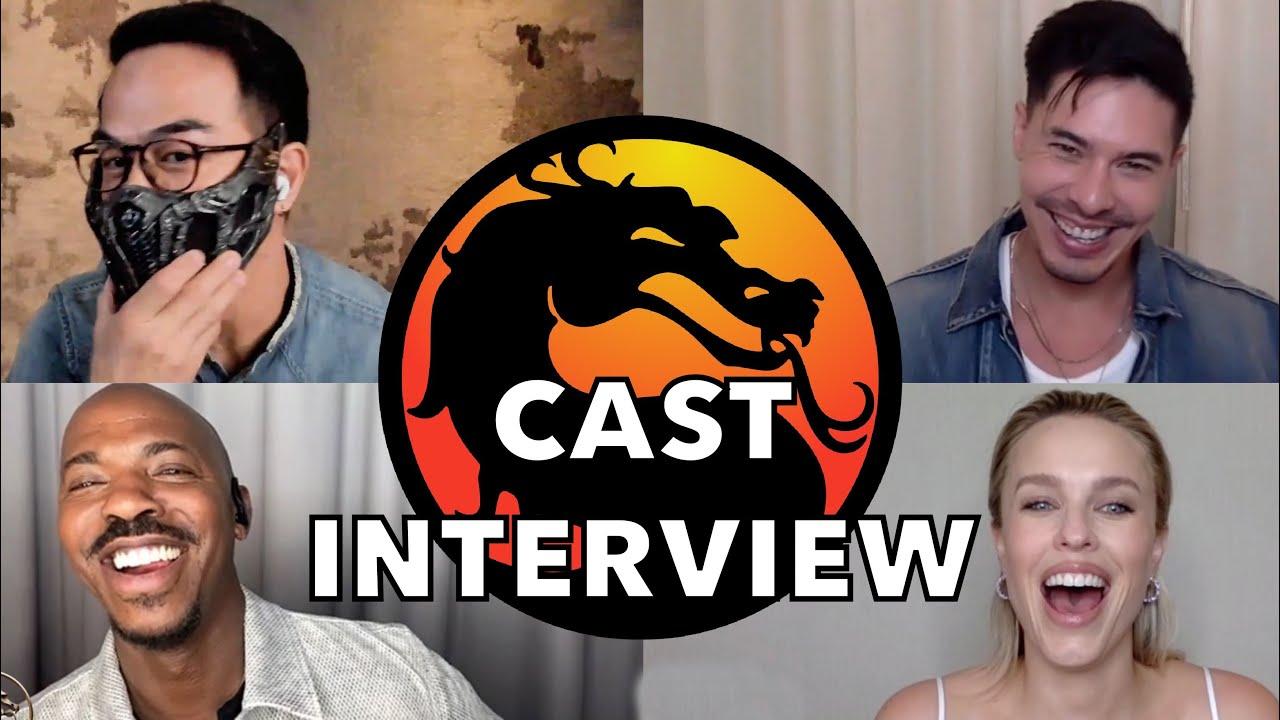 MORTAL KOMBAT Cast Interview: Joe Taslim, Lewis Tan, Ludi Lin, Mehcad Brooks, McNamee, Lawson, Huang