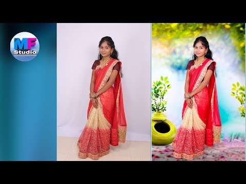 Background change Easy Technique | Photoshop Tutorial in hindi