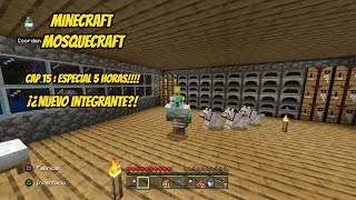 Mosquecraft Cap 15: Directo 5 horas Extendible|MInecraft Ps4