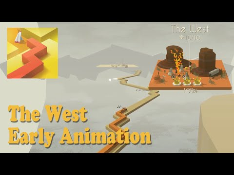 The West • Early Animation • Dancing Line
