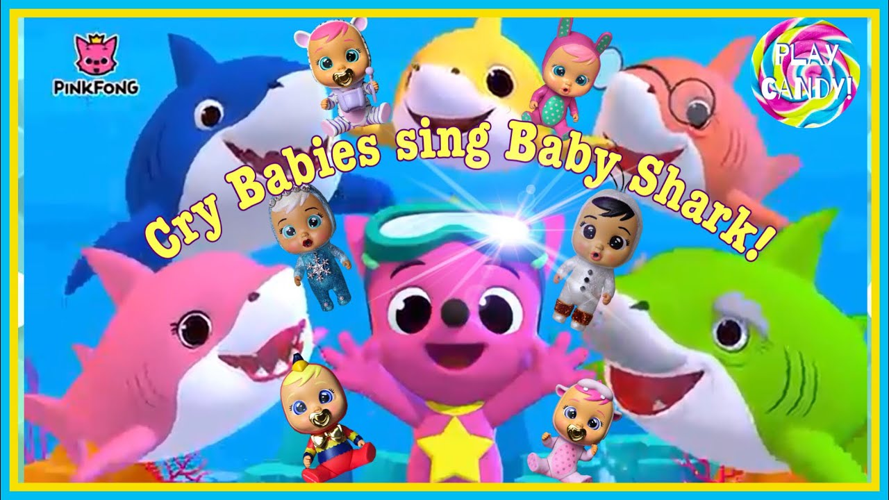 Baby Shark Dance - Pinkfong sing and dance - Cry Babies ...