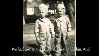 Jimmie Rodgers- Kisses Sweeter Than Wine (lyrics)