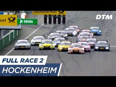 DTM Hockenheim 2017 - Race 2 (Multicam) - RE-LIVE (English)