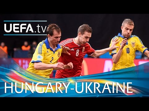 Futsal EURO Highlights: Watch Ukraine win nine-goal thriller