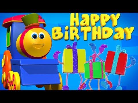 Bob den Zug   alles Gute zum Geburtstag Lied   Geburtstagsfeier   Party lied   Bob Happy Birthday