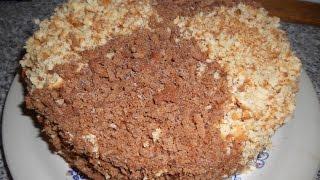 Простые рецепты, торт сметанник