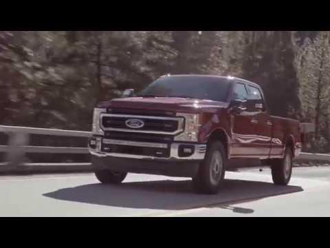 Ford Super Duty F-250 2020 Driving Scenes