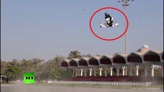 Air Patrol: Dubai police test flying motorbike-drone hybrid