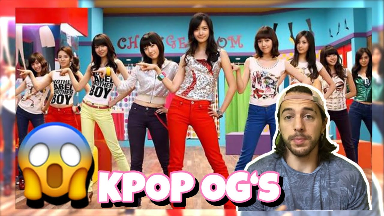 FIRST TIME REACTING TO Girls' Generation 소녀시대 'Gee' MV ! KPOP OG's!