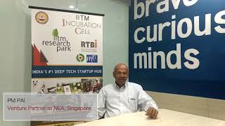 IITMIC Visitors speak| PM Pai - serial investor | 13.11.2018