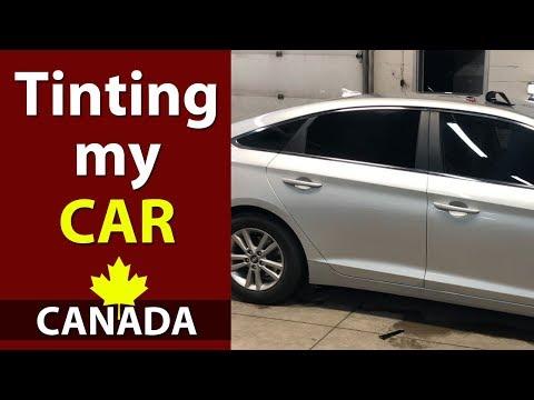 Tinting My Car In Montreal Canada (Kataria TV)