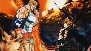 MELIODAS VS ESCANOR | AMV | KING OF THE DEAD XXXTENTACION