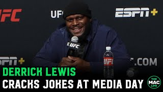"Derrick Lewis: ""I want a piece of Alistair Overeem. Clap them cheeks"""
