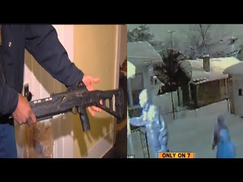 Dreadful Detroit~mother opens fire on home invading hoodboogers with an assault rifle