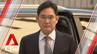 Samsung heir Lee Jae-yong appears in court for retrial over corruption scandal