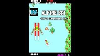 1982 [60fps] Alpine Ski 72980pts