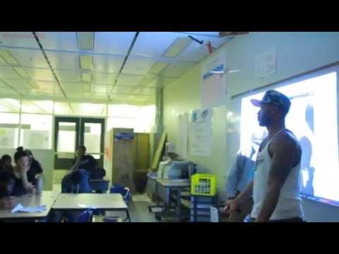 Bishop City Presents Inspiring Students at Corliss High School in Chicago