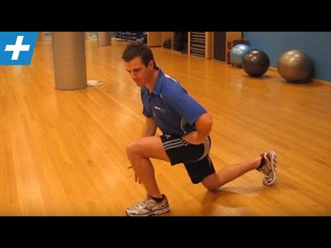 Physio Lunge for VMO + Glute Activation in Knee Rehab | Feat. Tim Keeley | No.1 | Physio REHAB