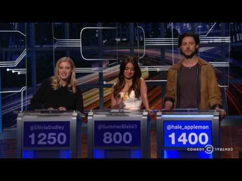 Hale Appleman on Jeapordy!... I mean @Midnight