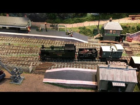 The Railway Enthusiasts' Club 2018 Model Railway Exhibition – Woking – 9th September 2018