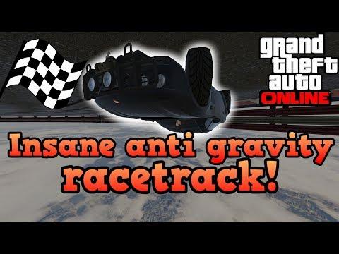 Insane anti gravity racetrack! - GTA5