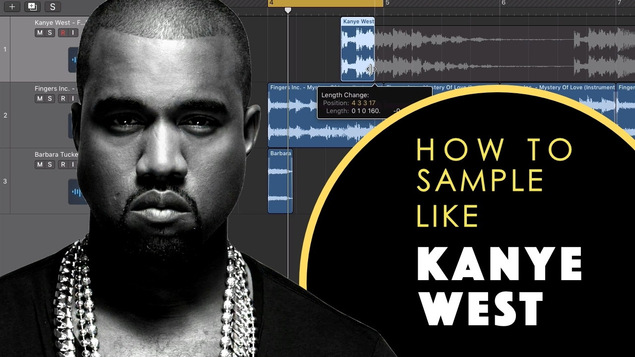 How to sample like Kanye West - YouTube