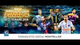 Paris SG VS Nantes Handball Coupe de la Ligue 2017 Finale