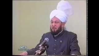 Friday Sermon 22 December 1989