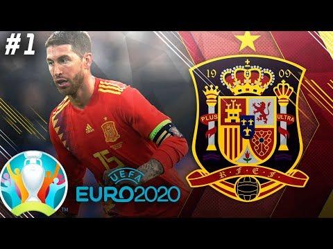 FIFA 19 Spain Career Mode EP1 - UEFA Euro 2020!!