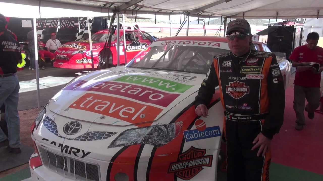 Oscar Peralta 2da fecha NASCAR Toyota Series 2013 - YouTube