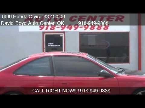 1999 Honda Civic EX coupe - for sale in Tulsa, OK 74145