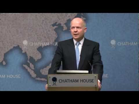 Foreign Secretary delivers key note speech on Somalia at Chatham House