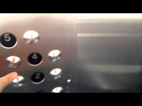 Schindler Hydraulic Elevators At Nebraska Furniture Mart Parking Garage In The Colony TX
