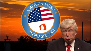 America First, Word Second (official), Response by Donald Trump #Everysecondcounts #AmericaFirst