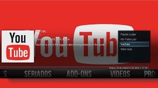 Addon Youtube Atualizado /tv ao vivo/addon rogger stream