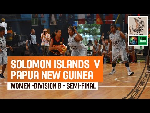 Solomon Islands v Papua New Guinea (Women) - Division B - Semi-Final - Full Game
