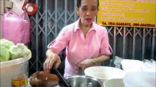 Yam Naem Khao Tod by Pa Yai ยำแหนมข้าวทอดป้าใหญ่
