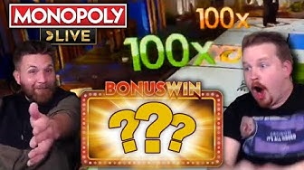 BIGGEST 4 Rolls Win in Monopoly Live - LOTS of DOUBLES!