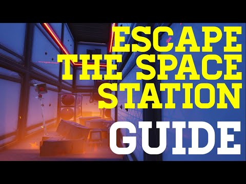 How To Complete Escape The Space Station By Hooshen - Fortnite Creative Guide