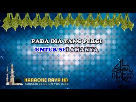 Jamal Abdillah   Salam Aidilfitri   Karaoke Minus One   Lyric Video HD