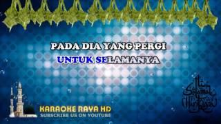 Jamal Abdillah   Salam Aidilfitri   Karaoke Minus One   Lyric Video HD
