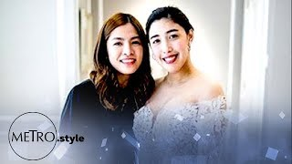EXCLUSIVE: Dani Barretto's Wedding Gown Fitting At Patricia Santos Atelier