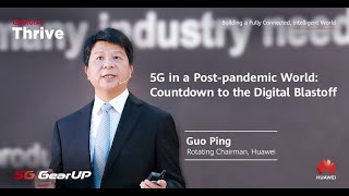 5G in a Post-pandemic World: Countdown to the Digital Blastoff