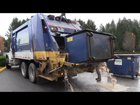 Sloppy Commercial Kick Bar Dumpsters