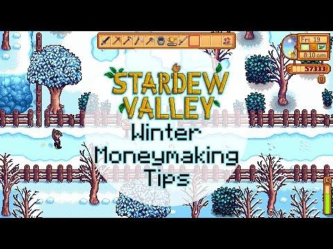 Stardew Valley - Winter Money Making Tips